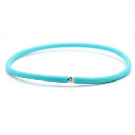 Bracelet My first diamond turquoise