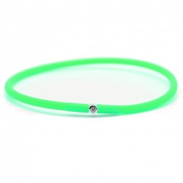 Bracelet My first diamond vert fluo