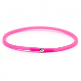 Bracelet My first diamond rose fluo