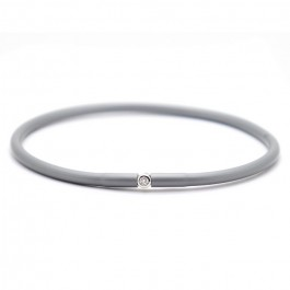 Bracelet My first diamond gris métal