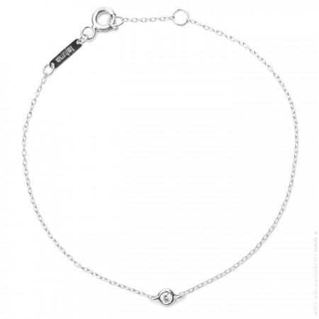 18k White Gold and Diamond Bracelet