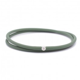 Bracelet My first diamond double lien kaki