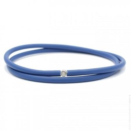 Bracelet My first diamond double lien marine