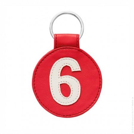Porte clé en cuir n°6