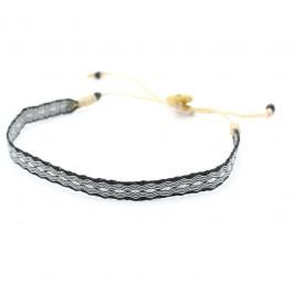 Argentinas 120 black and silver bracelet
