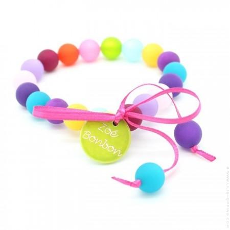 Bracelet mini boules multico