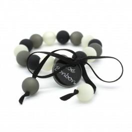 Bracelet enfant gris multi