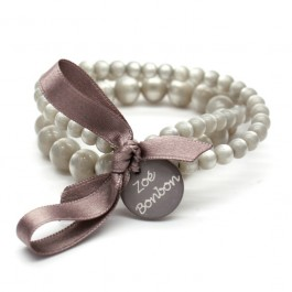 Greige triple size bracelet Zoe Bonbon
