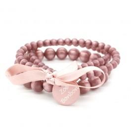 Old pink triple size bracelet Zoe Bonbon