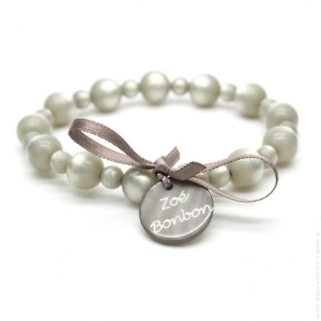 Bracelet Gabrielle nacré