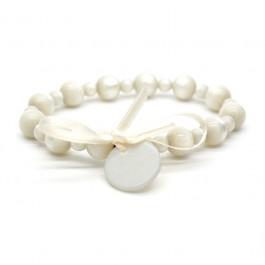 Ivory Gabrielle pearly beads bracelet Zoe Bonbon