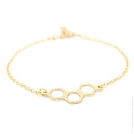 Mila gold platted bracelet