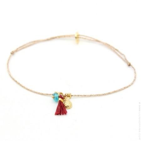 Summer Pineapple Bracelet