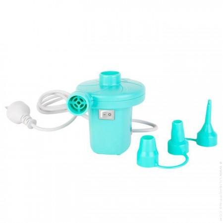 Gonfleur électrique turquoise