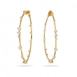 Hoops gold platted earrings