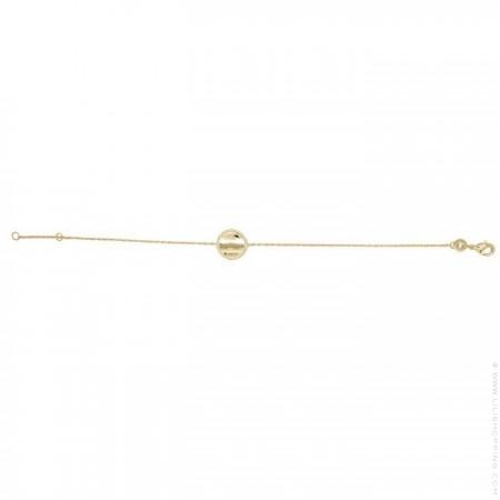 Romy gold platted bracelet