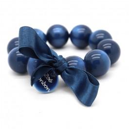 Bracelet XL nacré marine