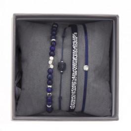 Navy blue ultra fine rocks bracelets