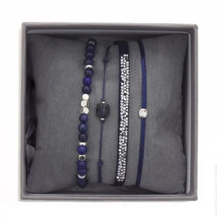 Bracelets Ultra fine rocks marine