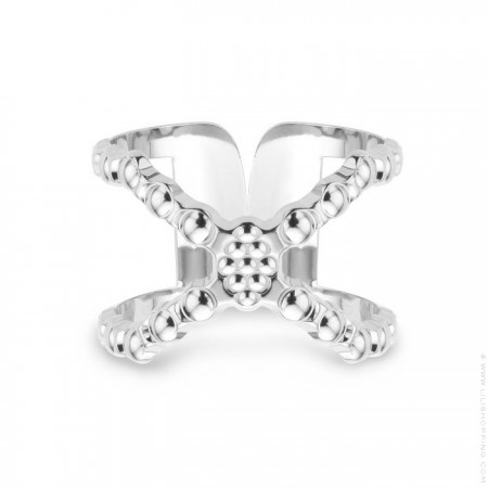 Connexion Silver Plated Ring - new edition