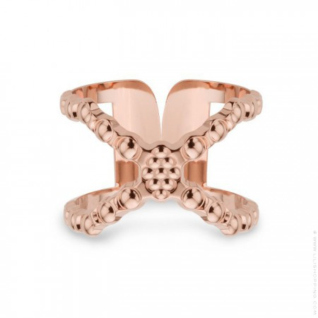 Cconnexion Rose Gold Plated Ring
