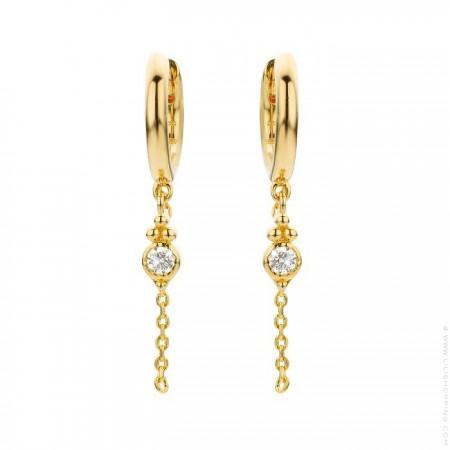 Kochi gold platted earrings