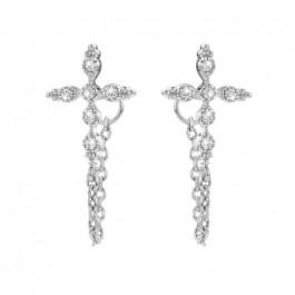 Little Chenai silver platted earrings