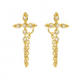 Little Chenai gold platted earrings