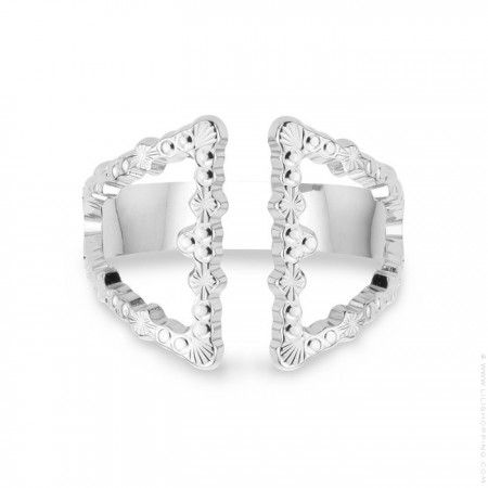 Icone Silver Plated Ring - new edition