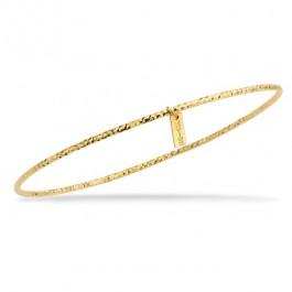 Bracelet Amazonia plaqué or