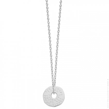 Cross Silver platted necklace