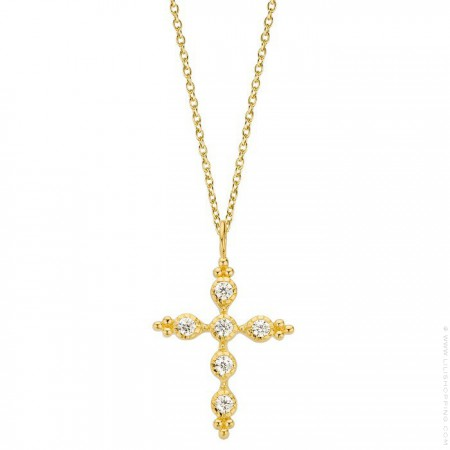 Comete Gold platted necklace