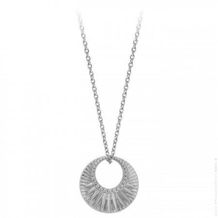 Celeste Silver plated necklace