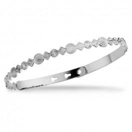 Cuba silver platted bracelet