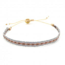 Argentinas copper grey bracelet