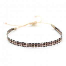 Argentinas black and brown bracelet