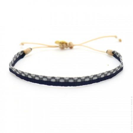 Argentinas blue and grey bracelet