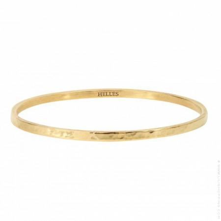 Gold platted snake bangle bracelet