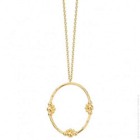 Gold plated Samula necklace
