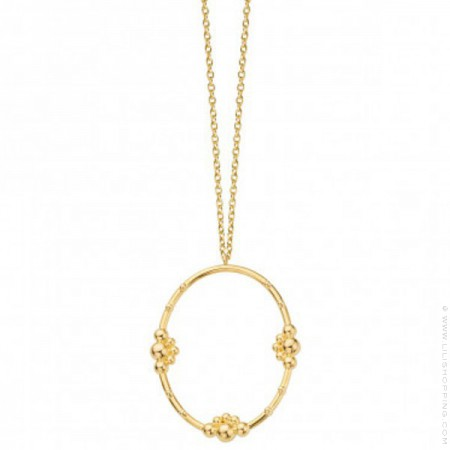 Gold plated Love necklace