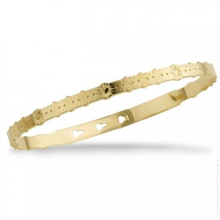 Bracelet Idylle plaqué or
