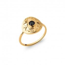 Amazonia gold platted ring