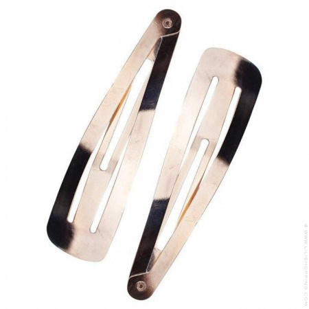 Micro stackable gold snap clips 7 pc set