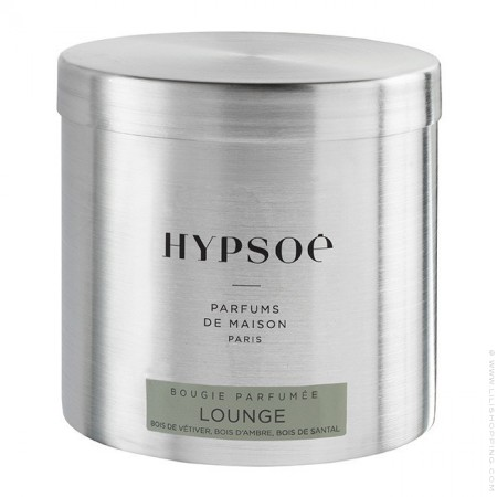 Lounge large scented candle