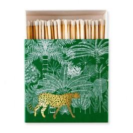 Green Cheetah Luxury matchbox