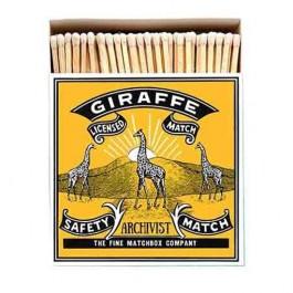 Giraffe Luxury matchbox