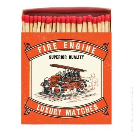 Grandes allumettes Pompiers vintage