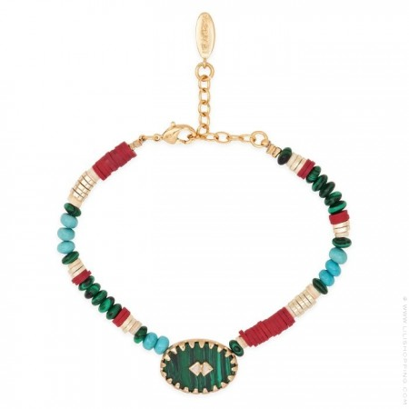 Bracelet Hipanema Anapurna green