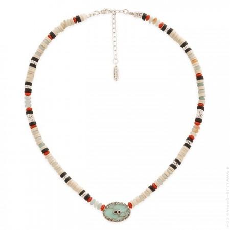 Hipanema Bessame black necklace