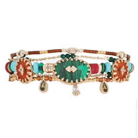 Bracelet Sherpa green Hipanema